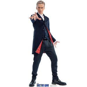 Doctor Who Peter Capaldi 12th Doctor Stand-up