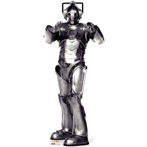 Doctor Who Cyberman Stand-up