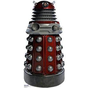 Doctor Who Red Dalek Stand-up