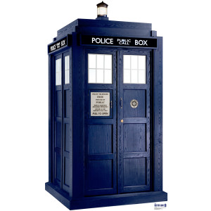 Doctor Who TARDIS Stand-up