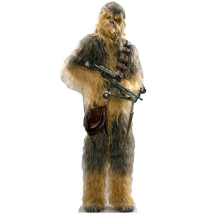 Star Wars Force Awakens Chewbacca Standup