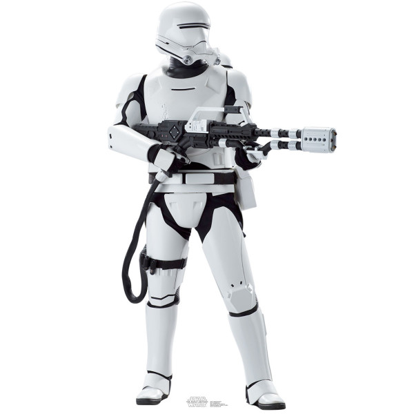 Star Wars Force Awakens Flametrooper Standup