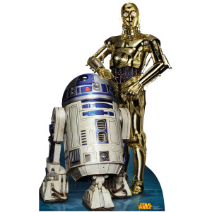 Star Wars R2-D2 & C-3P0 Standup