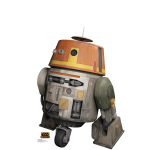 Star Wars Rebels Chopper Standup