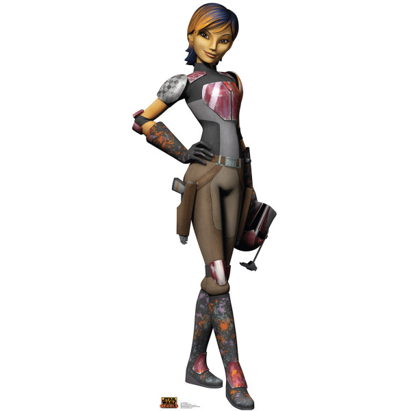 Star Wars Rebels Sabine Standup