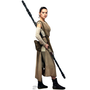 Star Wars Force Awakens Rey Standup