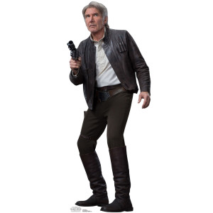 Star Wars Force Awakens Han Solo Standup
